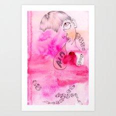 AY x WildHumm 1 Art Print