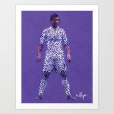 CR7 Art Print