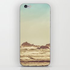 Ocean Waves - Blue Sea Beach in California iPhone & iPod Skin