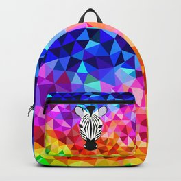 Zebra Dazzle Backpack