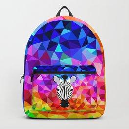 Zebra Dazzle Backpack