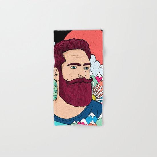 Mountain Man Hand & Bath Towel