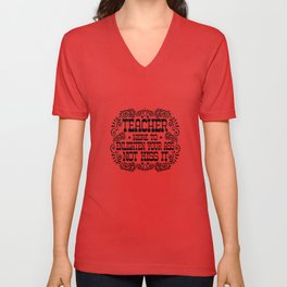 Teacher Unisex V-Neck