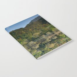 Upside down reflections Notebook
