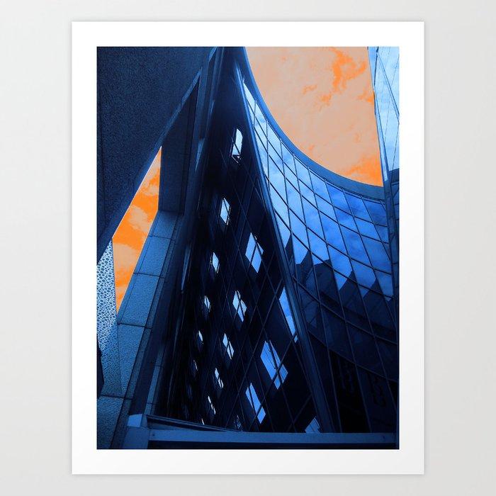 Wheelock Place Art Print