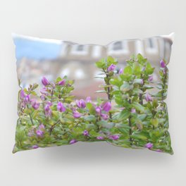 Roof Top Garden in Florence (3/5) Pillow Sham