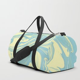 Marble of Yellow & Green Duffle Bag