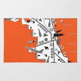 Great Cities: Chicago Rug