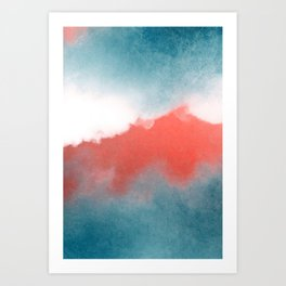 clouds III Art Print