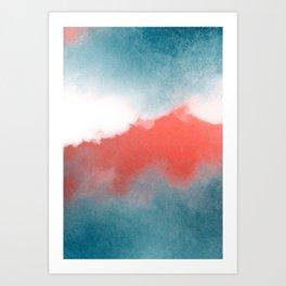 clouds III Art Print