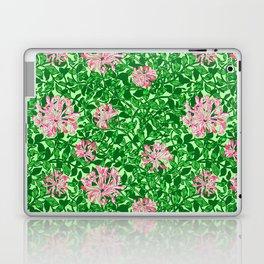 William Morris Honeysuckle, Pink and Emerald Green Laptop & iPad Skin