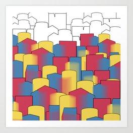 Basic Complex Art Print