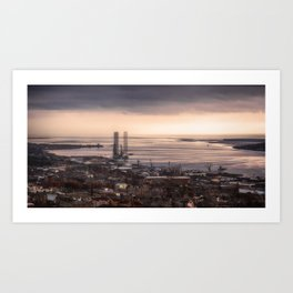 The Tay Estuary Art Print