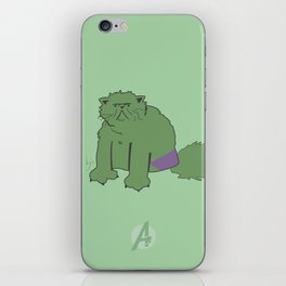 The Incatable Hulk iPhone Skin