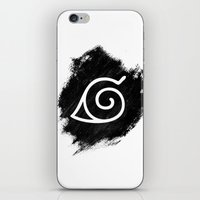 naruto iPhone & iPod Skins featuring Naruto by Bradley Bailey