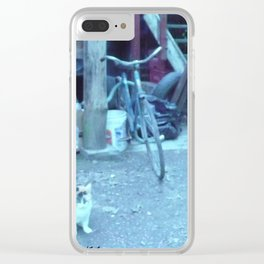 tall. the angle who hopes for your attention who you hope God protected. #103 Clear iPhone Case