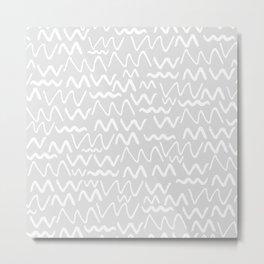 Issa Squiggle Metal Print