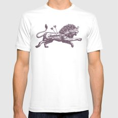 Be Not Afraid Mens Fitted Tee White X-LARGE