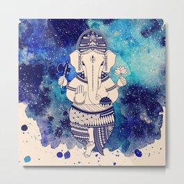 Shri Ganesha Metal Print