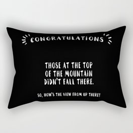 Congratulations Rectangular Pillow