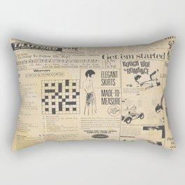 Ladies in the Fifties Rectangular Pillow