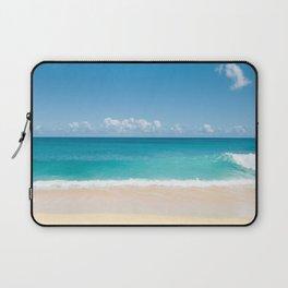 Turquoise wave Laptop Sleeve