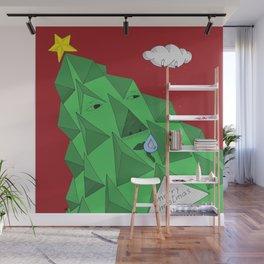 christmas pine Wall Mural
