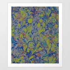 Marble Print #42 Art Print