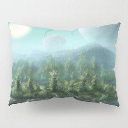 Alien Landscape Pillow Sham