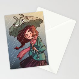 Fall in love Stationery Cards