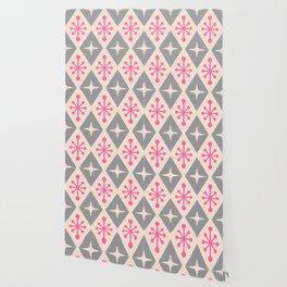 Mid Century Modern Atomic Triangle Pattern 115 Wallpaper