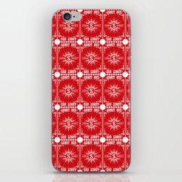 Sawdust Deck: Back Design iPhone Skin