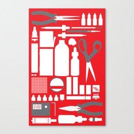 Vaping Tools Canvas Print