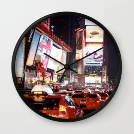 Manhatten New York Wall Clock
