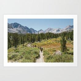 Life on the Trail Art Print