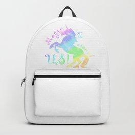 Magic is around us! Rainbow Unicorn Backpack