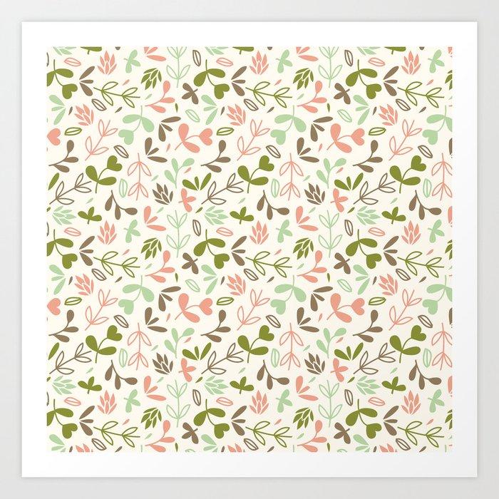 Colorful Lovely Pattern XIV Art Print