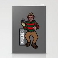 freddy krueger Stationery Cards featuring Freddy Krueger by AhamSandwich