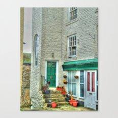 Village Cottage Canvas Print