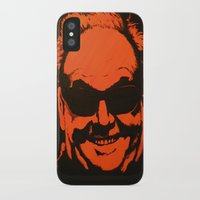 jack nicholson iPhone & iPod Cases featuring Jack by Ty McKie Creations