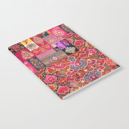 -A35- Traditional Colored Moroccan Artwork. Notebook