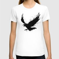 raven T-shirts featuring Raven by Nicklas Gustafsson