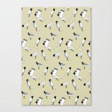 Bird Print - Natural Canvas Print