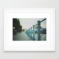 boardwalk empire Framed Art Prints featuring boardwalk by Jordan Parks Photography