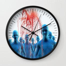 Aliens Gang & Strange Cosmic Blood Wall Clock