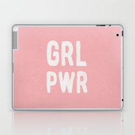 GRL PWR (pink) Laptop & iPad Skin