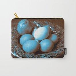 Egg Ginger Lemon blue Carry-All Pouch