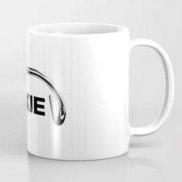 Classic Track Handlebars - Black Text Coffee Mug