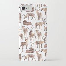 Christmas Reindeer.  iPhone 7 Slim Case