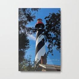 St Augustine Lighthouse II Metal Print